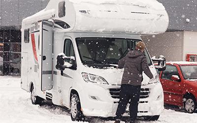 Checklista inför vinterförvaring av husvagn/husbil
