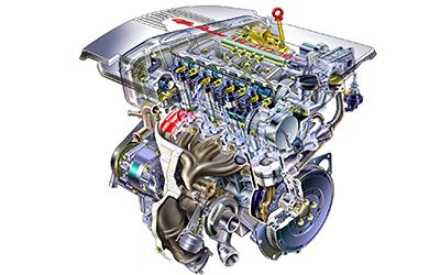 Så fungerar en bilmotor